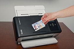 KODAK SCANMATE i1150 Scanner with ID card