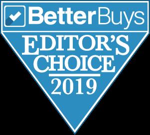 2019 Better Buys Editors Choice Award