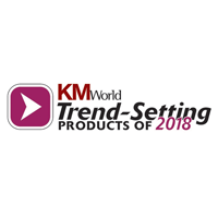 KM World Trend Setting Products of 2018