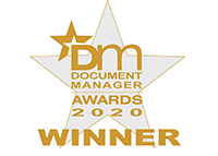 Kodak Alaris Document Manager Awards 2020 Winner