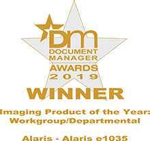 Document Management Alaris Award 2019