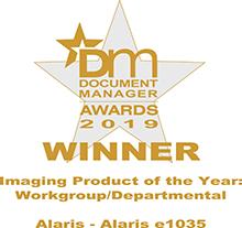 Document Management Alaris Award 2019