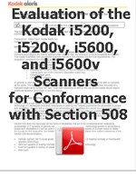 Evaluation of the Kodak i5X00 Scanners for Conformance with Section 508 230x299