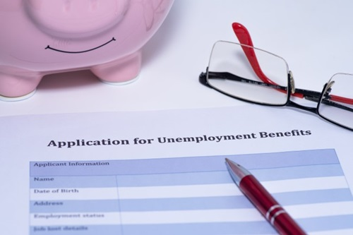 Application for Unemployment Benefits form