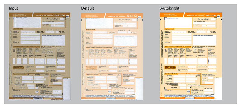 Kodak Alaris Perfect Page Technology