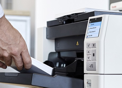 Kodak Alaris i4250 with Smart Touch and FeedingTray