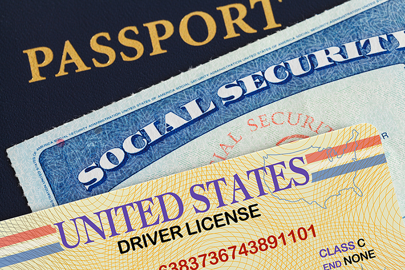 Passport Social Security License