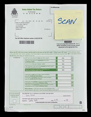 Alaris Advanced paper handling