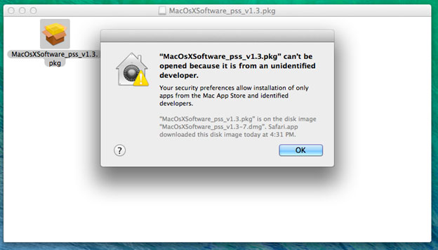 El Capitan - driver file cannot be opened error message