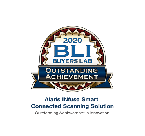 BLI Alaris INfuse Outstanding Achievement