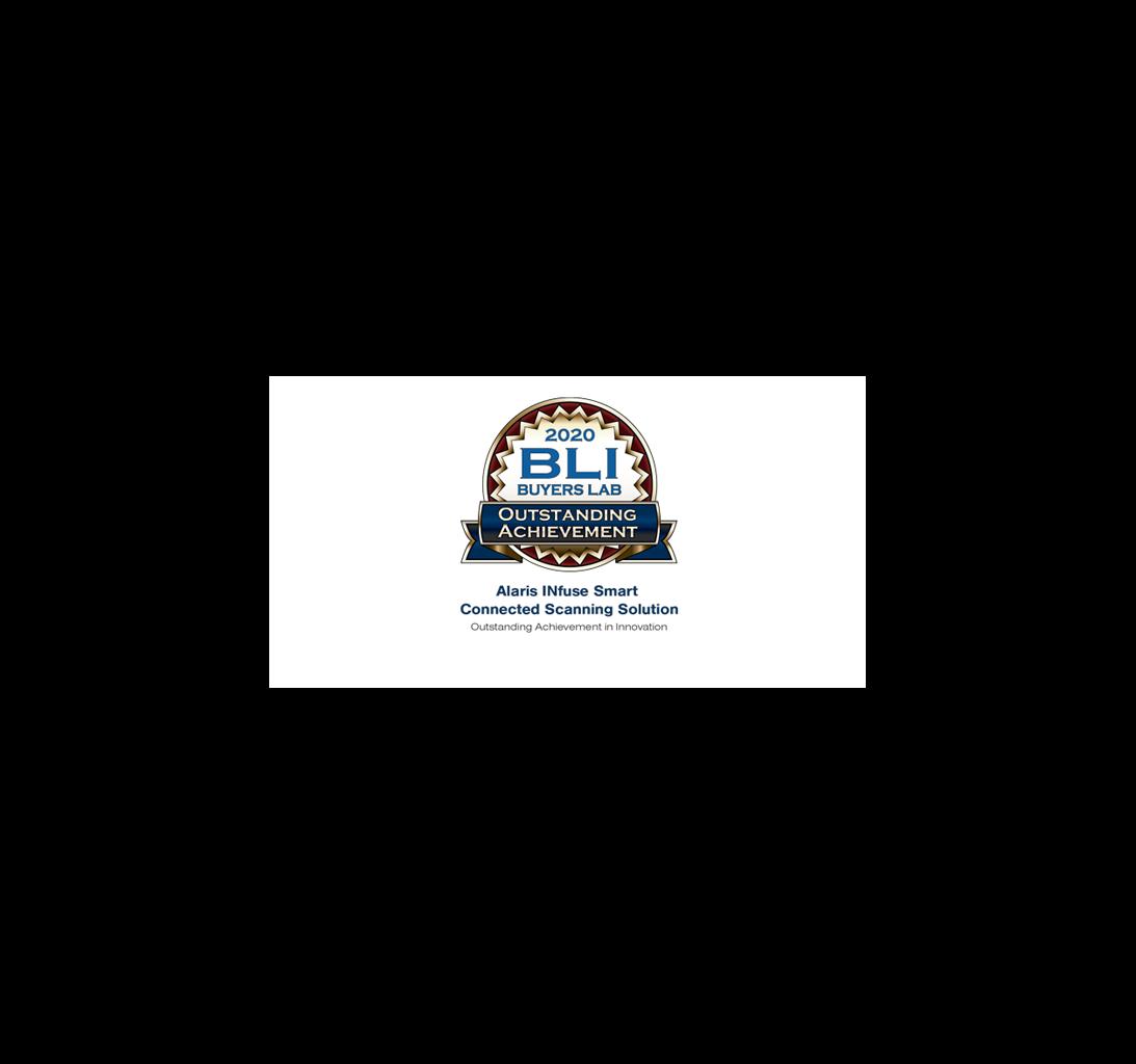BLI Alaris INfuse Outstanding Achievement