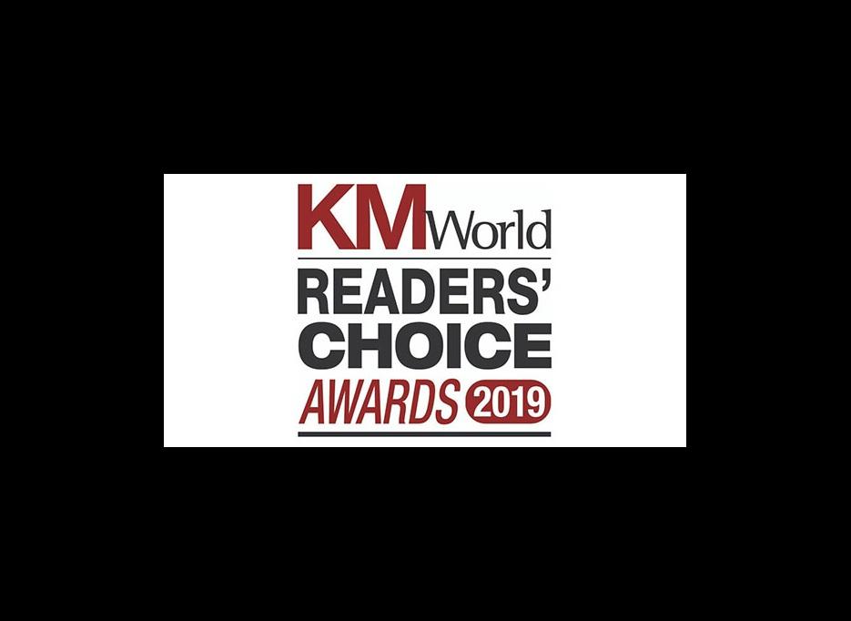 Alaris KMWorld Readers Choice Award 2019