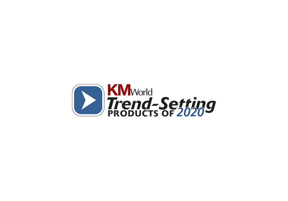 KM World Trend Setting Products 2020