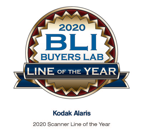 Kodak Alaris Line of the Year 2020