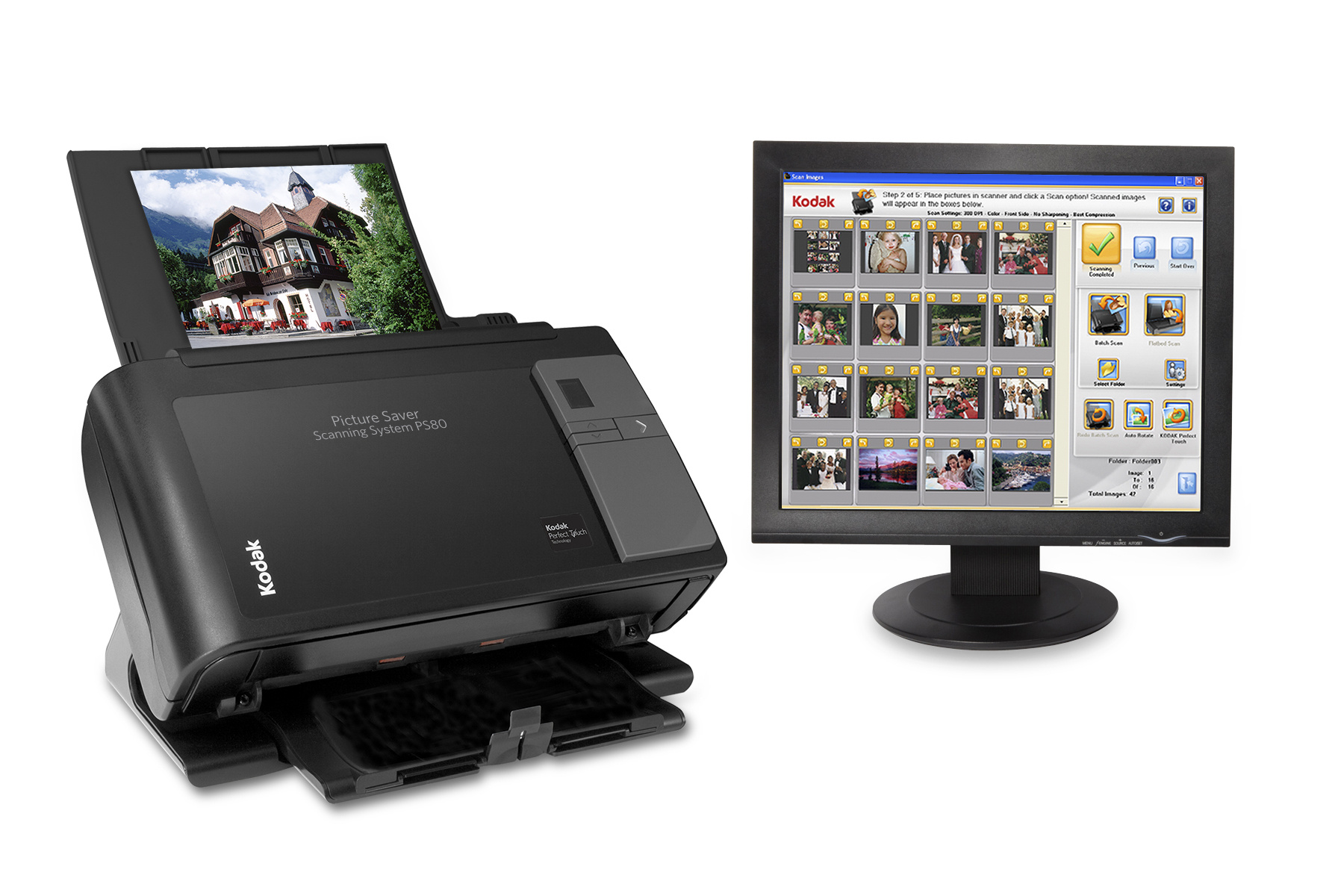 Picture Saver Scanning System