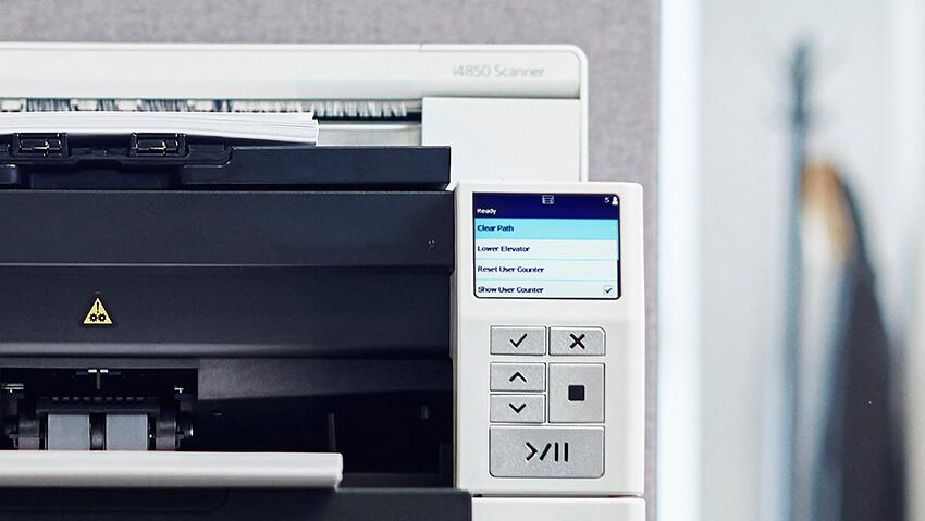 Alaris i4x50 Scanner Front