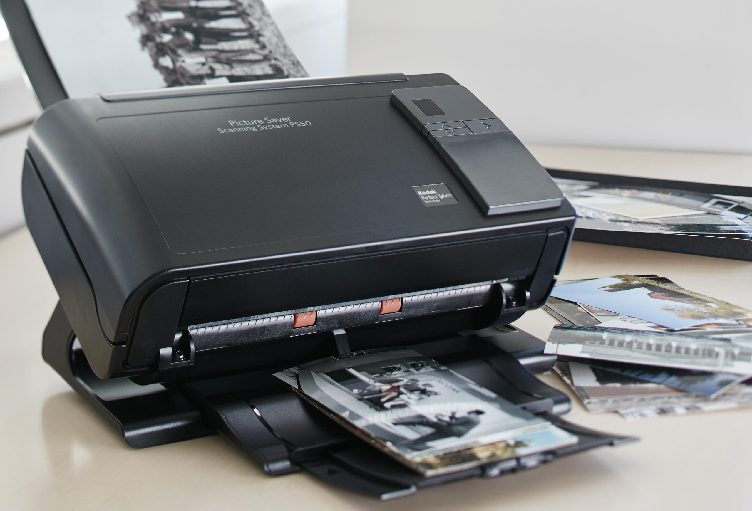 Kodak Picture Saver Scanner PS50-PS80