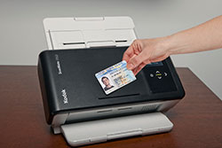 KODAK SCANMATE i1150 Scanner with ID card