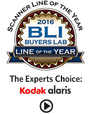 BLI Scanner Line of the Year 2016 Award