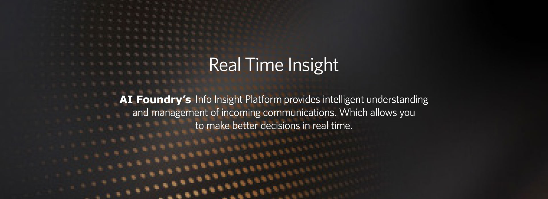 AI Foundry Info Insight
